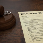 Divorce Decree Document & Gavel - William Strachan Family Law