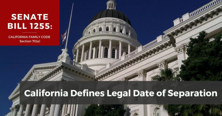New California Law Defines Date of Separation in 2017 ...